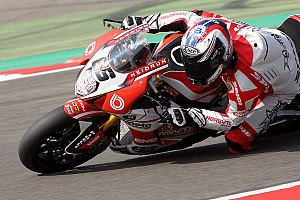 World Superbike Qualifying report Team Bimota Alstare storm to Superpole 1-2 EVO