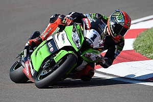 World Superbike Race report Sykes wins opening race at Donington Park