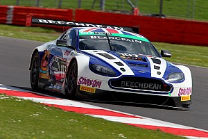Blancpain Endurance Race report Endurance rookie Lloyd stars on Aston Martin bow at Silverstone
