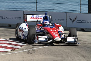 IndyCar Qualifying report Sato and Hinchcliffe to share front row for Race Two at Belle Isle