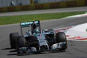 Rosberg and Hamilton lock-out front row for tomorrow's Canadian GP