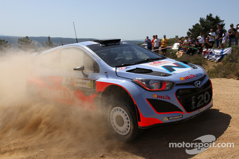 Hyundai Rally Team builds its confidence as Rally Italia Sardegna ends