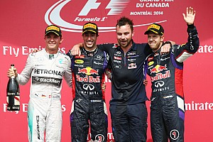 Formula 1 Press conference 2014 Canadian Grand Prix post-race press conference