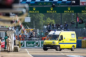 Le Mans Breaking news Official statement from the ACO regarding Loic Duval's accident