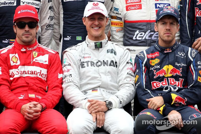 Mixed reaction to Monday's Schumacher news