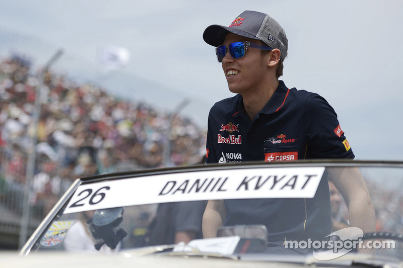 Kvyat hopes 'growth spurt' now over