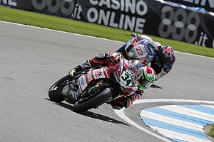 World Superbike Race report An unexpectedly difficult day for the Ducati Superbike Team today at Misano