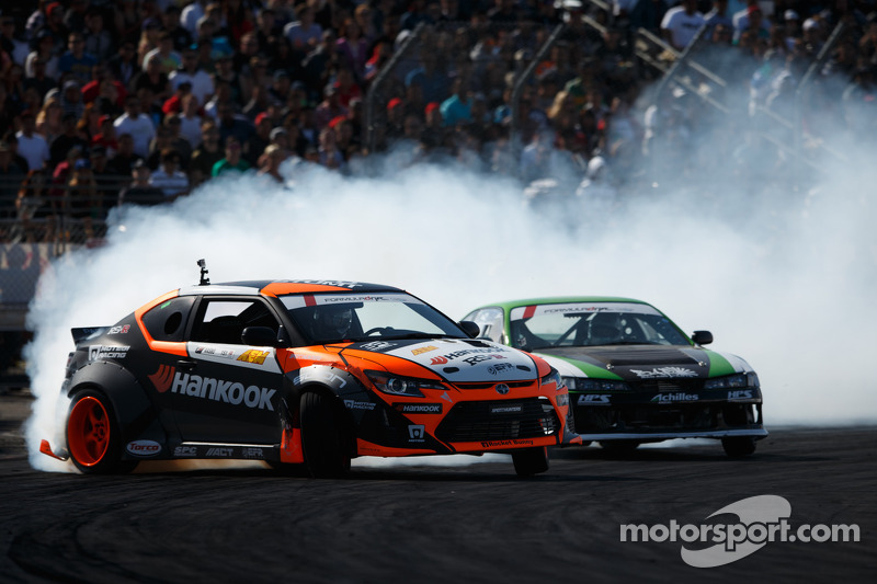 Aasbo and Forsberg score first and second place wins at Formula Drift Round 4: The Gauntlet