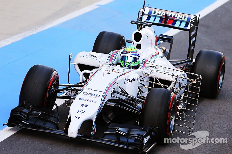Massa quickest in first day of testing at Silverstone
