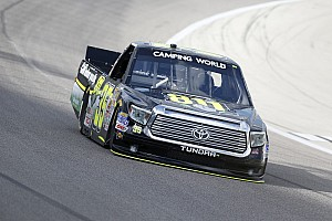 NASCAR Truck Race report Mason Mingus soldiers to top-20 finish at Iowa Speedway