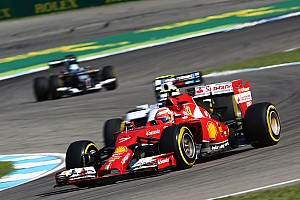 Ferrari on Friday practice for the German GP: Looking after the tyres