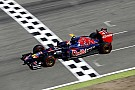 Toro Rosso's Daniil Kvyat will start the German GP from 8th position