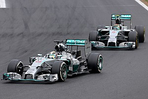 Formula 1 Race report Hamilton secures Mercedes' eleventh podium of the season at Hungaroring