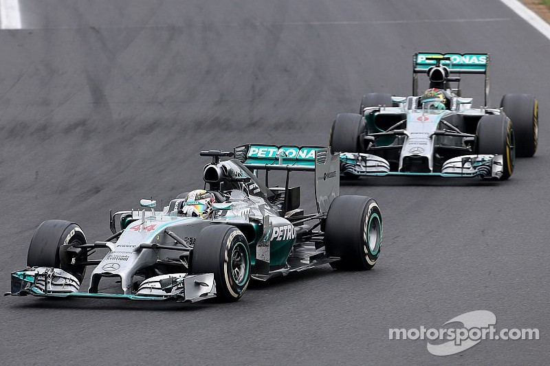 Hamilton secures Mercedes' eleventh podium of the season at Hungaroring