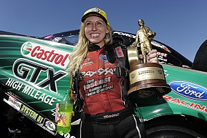 Courtney Force now the winningest female Funny Car driver in NHRA history