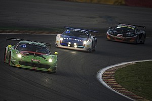 Blancpain Endurance Race report Norbert Siedler's Ferrari-debut ends earlier than expected
