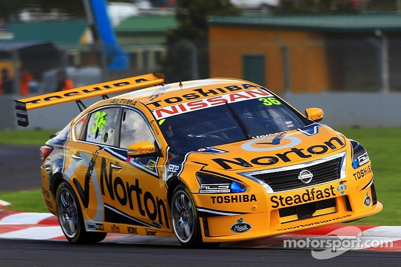 James Moffat stars at Queensland Raceway for Nissan