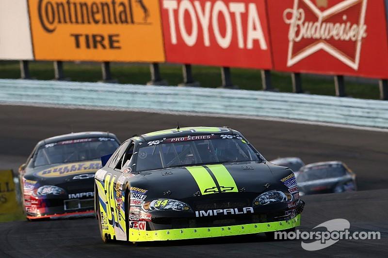 Scott Heckert takes first NASCAR K&N win