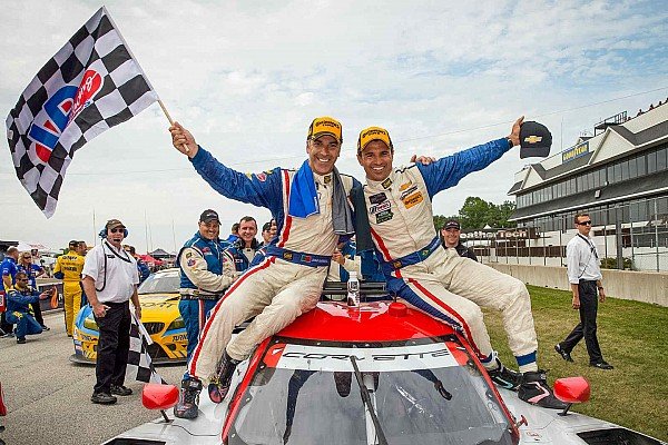 Joao Barbosa and Christian Fittipaldi win in Wisconsin