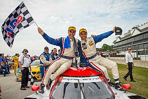 IMSA Race report Joao Barbosa and Christian Fittipaldi win in Wisconsin