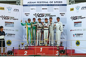 GT Race report GT Asia: Sawa and Mok make it three wins for 2014 at Sepang