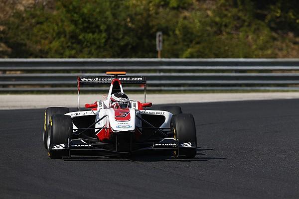 Zamparelli fastest in rain-affected Free Practice