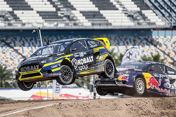 Red Bull Global Rallycross points race heats up for Olsbergs MSE