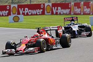 Formula 1 Race report Ferrari on Belgian GP: Raikkonen's best of the year, Alonso fights back