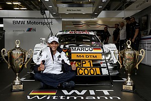 DTM Breaking news DTM champion Wittmann not dreaming of F1