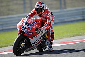 MotoGP Practice report Dovizioso leads MotoGP practice on day one in Aragón