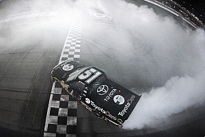 NASCAR Truck Race report Erik Jones wins Vegas in KBM 1-2 finish