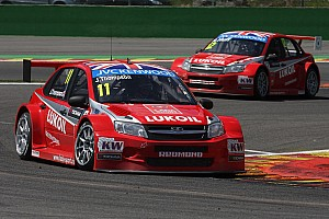 WTCC Preview LADA Granta cars to hit Beijing racetrack for the first time