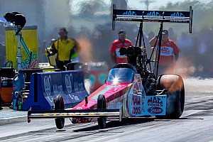 NHRA Qualifying report Doug Kalitta fastest in Top Fuel qualifying at Maple Grove