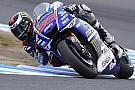 Lorenzo tops Philip Island practice despite suffering minor crash