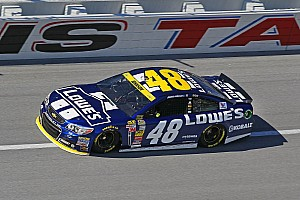 Johnson's Sprint Cup championship defense ends at Talladega