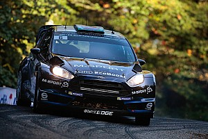 M-Sport World Rally Team's Mikko Hirvonen in the hunt
