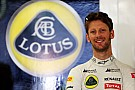 Lotus to keep Grosjean, test 2015 nose