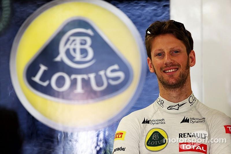 Lotus to keep Grosjean, test 2015 nose