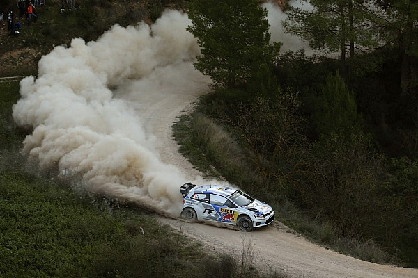 Latvala cuts into Ogier's lead during second leg of Rally Spain