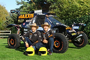 Dakar Breaking news Twins Tim & Tom Coronel chasing success in Le Dakar 2015 - video
