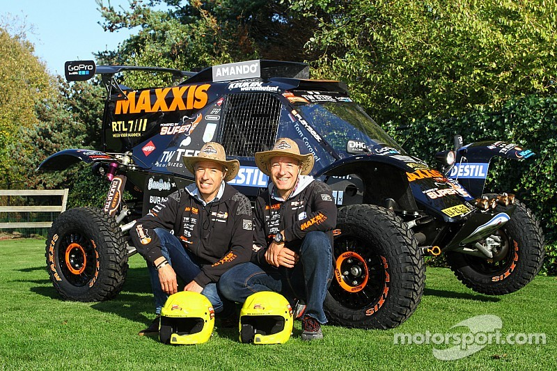 Twins Tim & Tom Coronel chasing success in Le Dakar 2015 - video