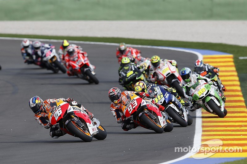 Riders ready for final MotoGP battle of 2014 in Valencia