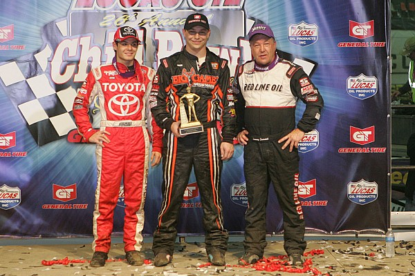 Kyle Larson is looking forward to playing in the dirt