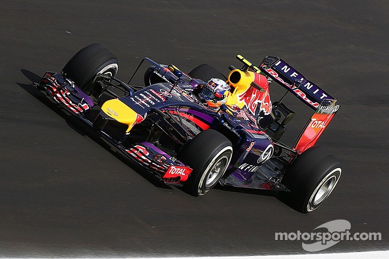 A positive Friday practice for Red Bull at Interlagos
