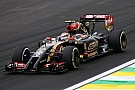 Maldonado fight to the end and arrives in 12th at Interlagos