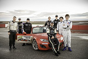 Road racing Breaking news 2014 Mazda Club Racer Shootout a major success