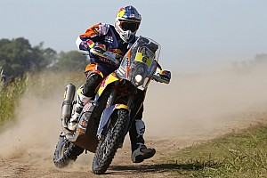 Dakar Breaking news Stage 1 Dakar victor Sunderland gets lost
