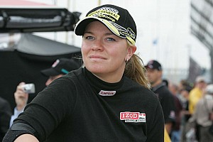 Sarah Fisher's gonna race a midget? How cute!