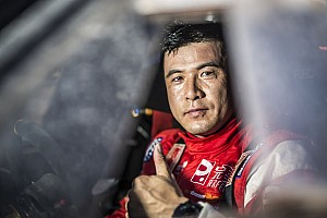 Dakar Race report Zhou's best performance