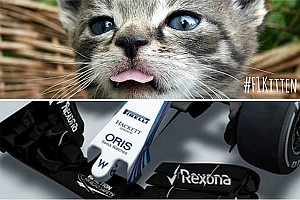 Lotus pokes fun at Williams' 2015 nose